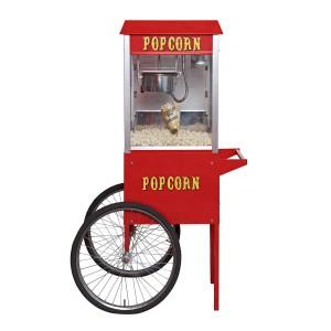 Popcorn maskine med tilhørende stativ juulsfadol.dk