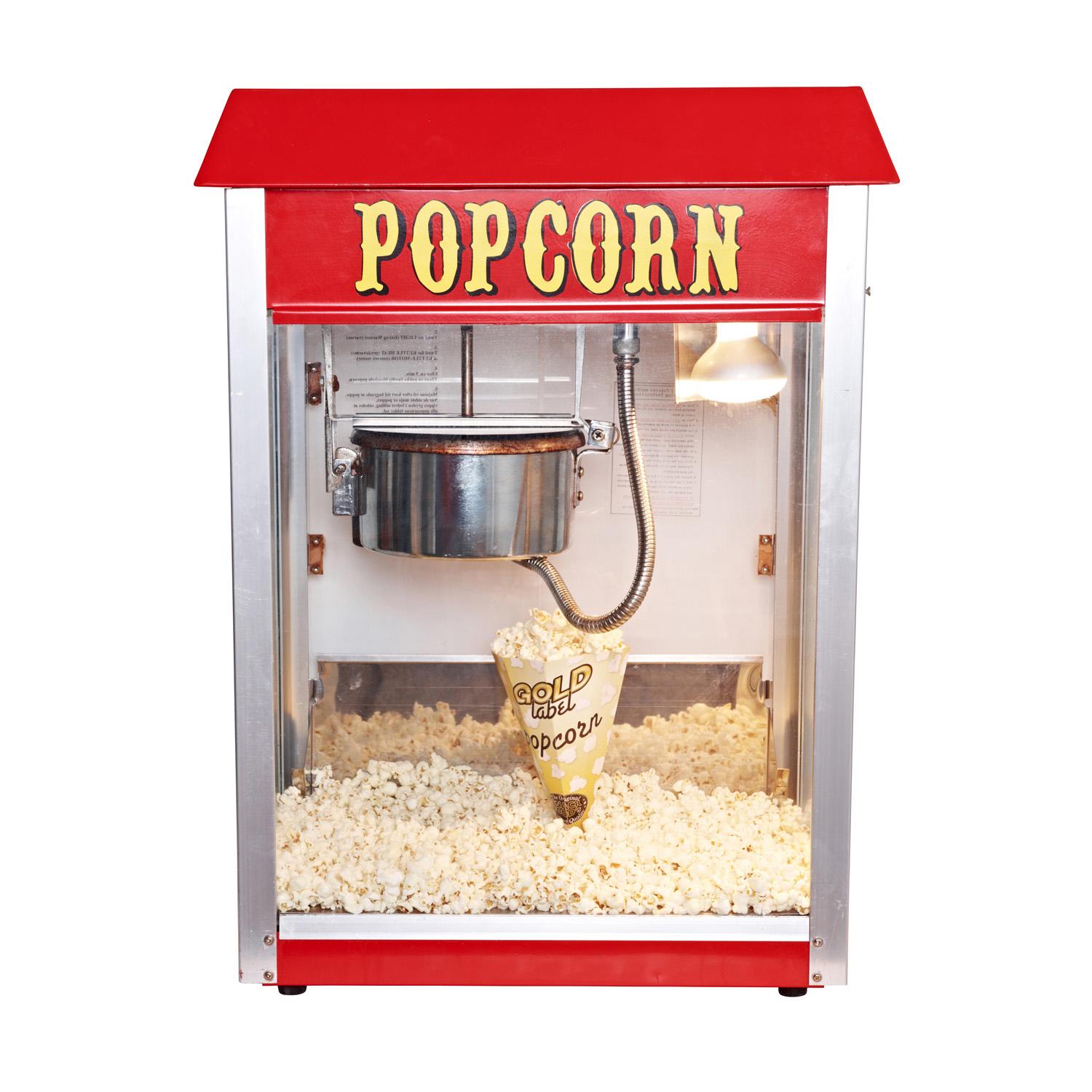 Popcorn til popcornmaskine